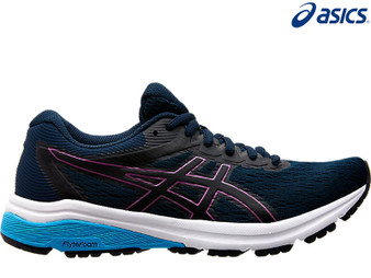 Asics Gel GT 800 Ladies Running Shoe (French Blue/Digital Grape)