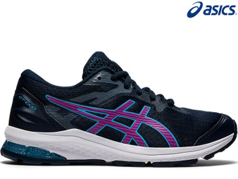 Asics Gel GT 1000 10 GS Kids Running Shoe (French Blue/Digital Grape)