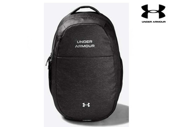 Under Armour Hustle Signature Backpack (Grey 010)