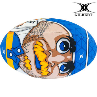 Gilbert Randoms Player No.7 Rugby Ball Size 5