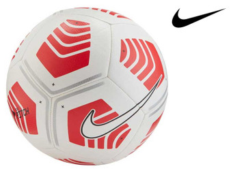 Nike Pitch Football 99 White/Red Size 5