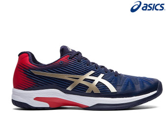 Asics Gel Speed FF Clay Mens Tennis Shoe Peacoat/Champagne