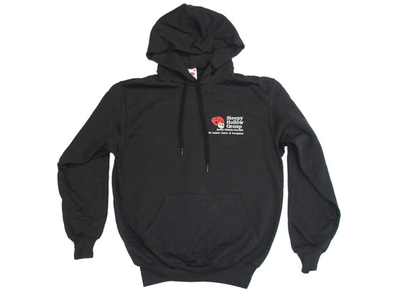 Sleepy Hollow Staff Black Hoody (with embroidered name)