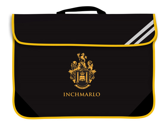 Inchmarlo Book Bag (with option for initials)