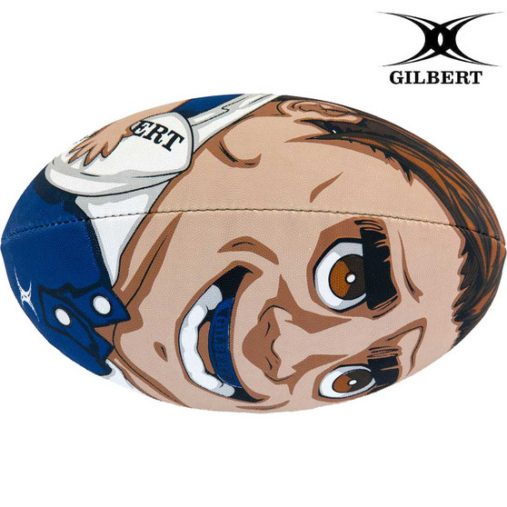 Gilbert Randoms Player No.14 Rugby Ball Size 5
