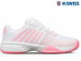 K-Swiss Express Light 2 HB Ladies Tennis Shoe (White/Pink/Blushing Bride)
