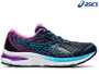 Asics Gel Cumulus 22 GS Kids Running Shoe (French Blue/Digital Grape)