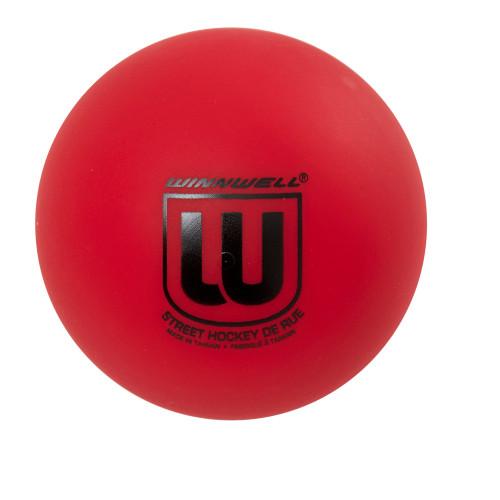 STREET HOCKEY BALL 65MM 50G HARD RED
