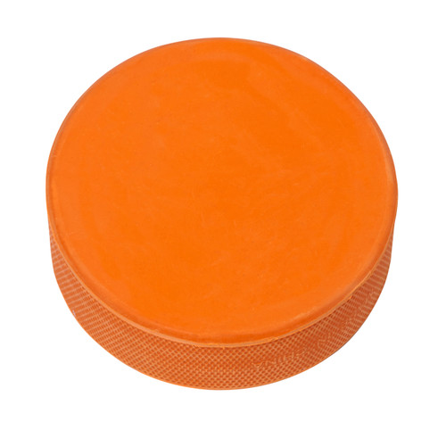 ICE HOCKEY PUCKS (ORANGE HEAVY 10oz) - 20 PACK