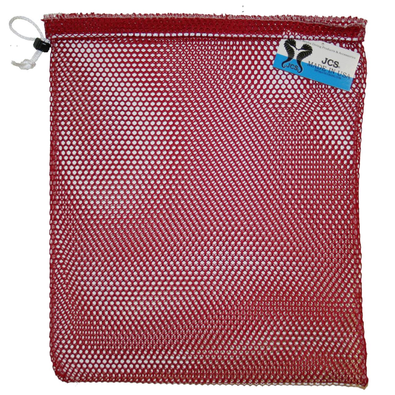 20ea596d1725 Nylon Mesh Drawstring Bag, Approx. 15x20