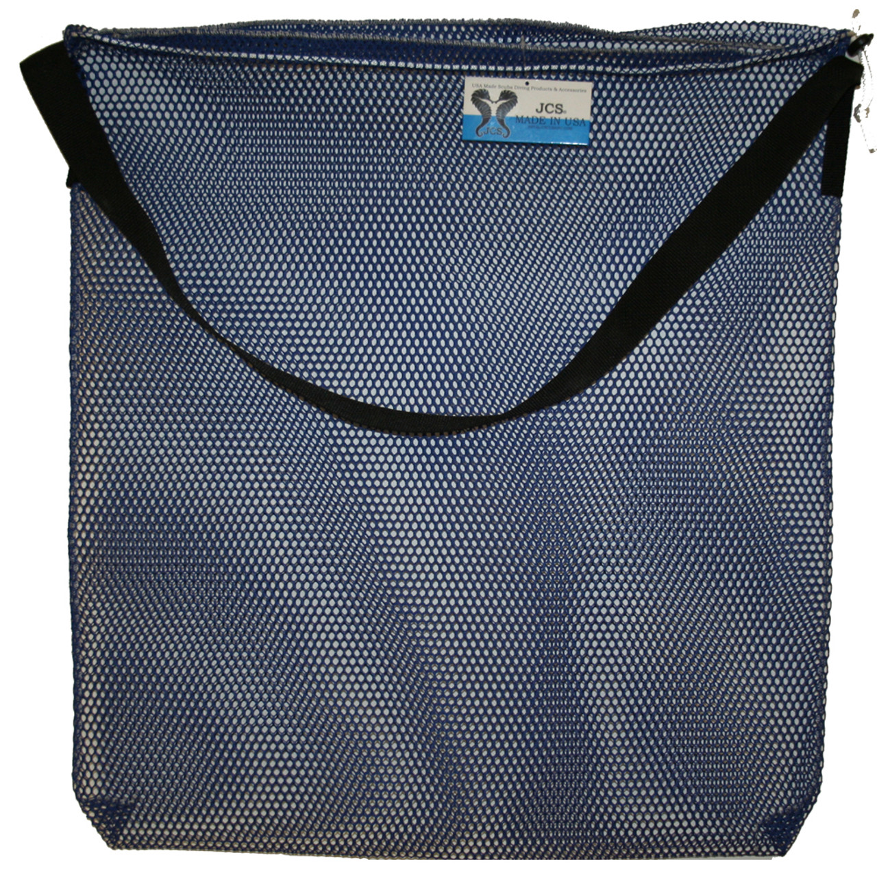 Mesh Drawstring Tote Bag with Shoulder Strap, Large, Approx. 24inch x 30inch