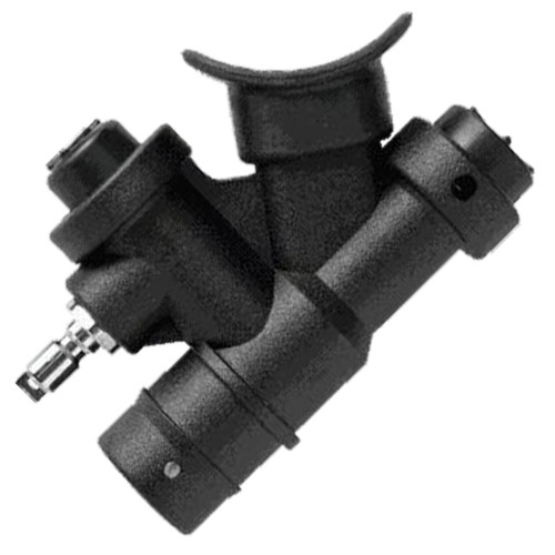 Soft Touch BCD Power Inflator with Angled Mouthpiece