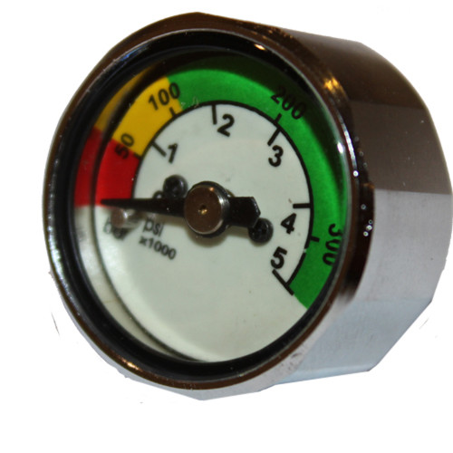 1inch Dia. Pony Bottle Mini Pressure Gauge with PSI & BAR Readings