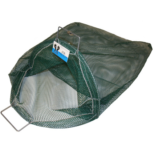 X-Large Uncoated Galvanized Wire Handle Mesh Catch Bag, Approx. 24x33