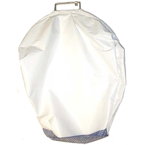 Vinyl Bull Bag with Mesh Bottom, Approx. 24inch x 30inch, White