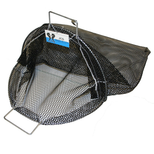 Galvanized Wire Handle Abalone Catch Bag, 24inch x 24inch, 16inch Opening