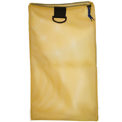 Nylon Mesh Drawstring Bag with D-Ring, Approx. 18inch x 30inch