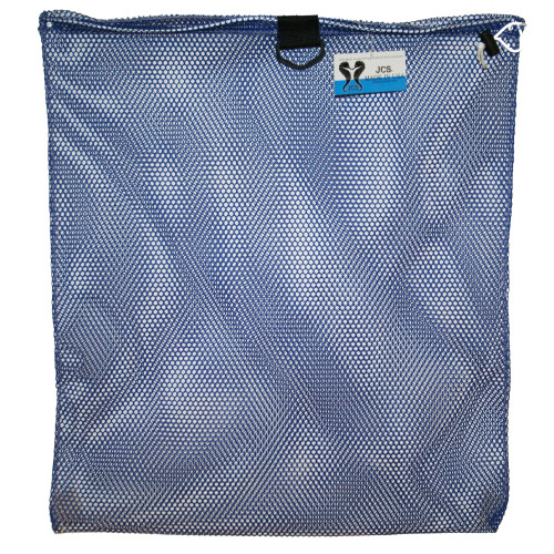 Nylon Mesh Drawstring Bag with D-Ring, Large, Approx. 24inch x 30inch