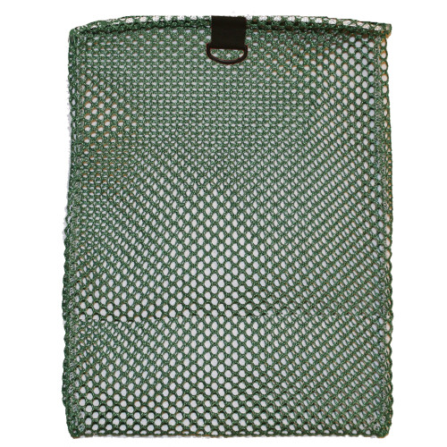Nylon Mesh Drawstring Bag with D-Ring, X-Large, Approx. 24inch x 36inch