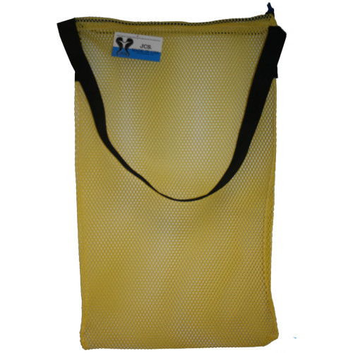 Mesh Drawstring Tote Bag with Shoulder Strap, Medium, Approx. 17inch x 30inch