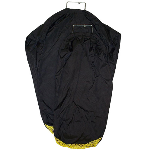 Full Nylon Pack Cloth Bag with Mesh Bottom (for Drain), Coated Wire and D-Ring..