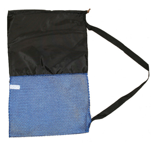 Stuff Sack with Shoulder Strap, Blue/Black, 18inch x 30inch