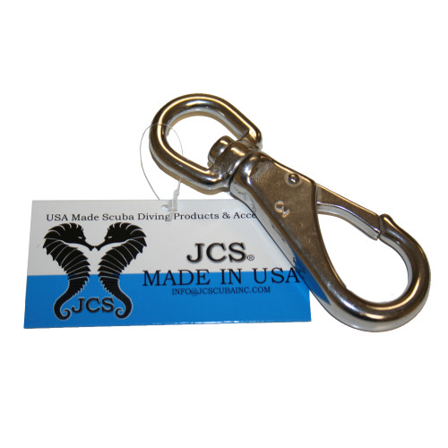 #3, 4.5inch Marine Grade Stainless Steel Swivel Gate Snap