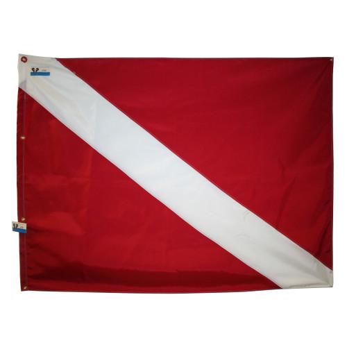 48inch x 60inch Nylon SCUBA Diving Flag