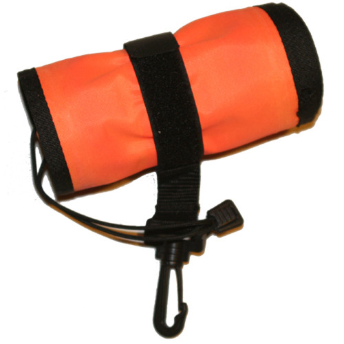 Surface Marker Buoy (SMB) with Whistle & Manual Inflator (Safety Sausage), 4 Feet.