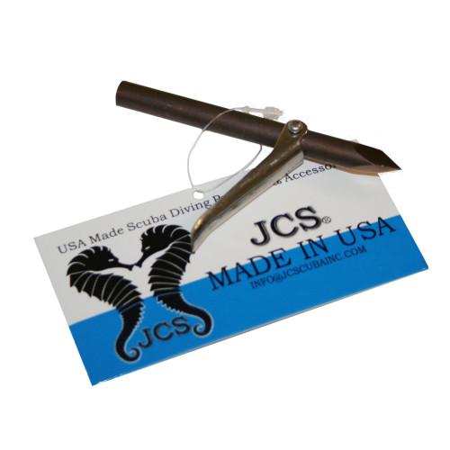 3 1/2inch Tri-Cut Single Barb Spear Head, 6mm Female Thread