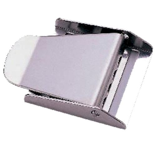 Stainless Steel 3-Slot Weight Belt Buckle with Pin