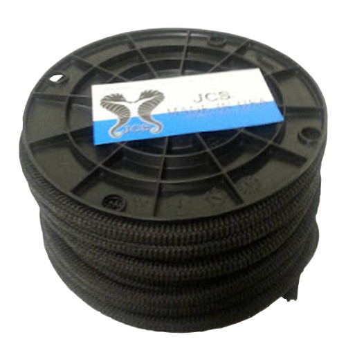 NeoStretch PP #10, 5/16inch x 100 Feet Slip-Resistant Textured Shock (Bungee) Cord, Black