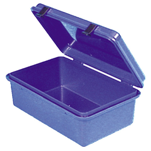 Hinged Plastic Dry Box with O-Ring Seal, Inside Dimensions: 7 3/4inch x 4 3/4inch x 3inch
