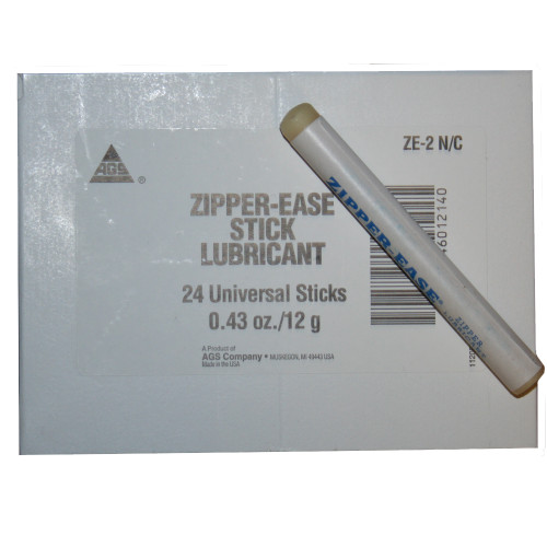 Case of ZIPPER-EASE Zipper Wax Lubricant, 24Pcs.