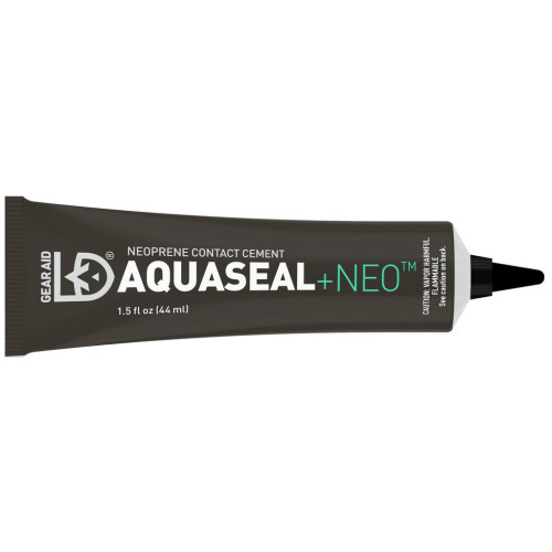 Aquaseal Contact Cement, Black, 1.5 oz. Tube