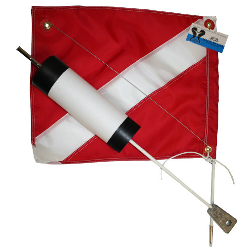 Scuba Dive Float and Flag