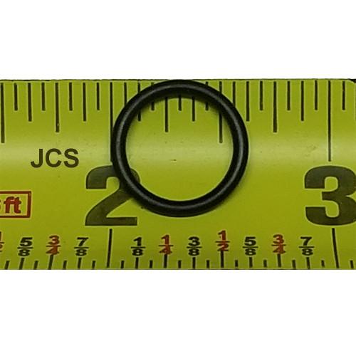 "Standard AS 568A 5/8"" O.D, 1/2"" I.D. Buna-N 70 Durometer O-Ring"