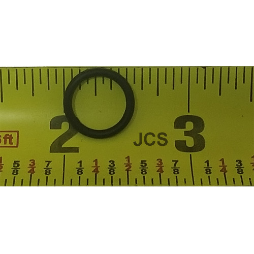 "Standard AS 568A 9/16"" O.D., 7/16"" I.D. Buna-N 70 Durometer O-Ring"