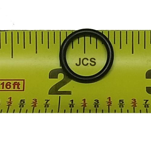 """AS 568A 9/16"""" O.D., 7/16"""" I.D. Viton 75 Durometer O-Ring, 10pcs."""