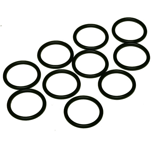 "Standard AS 568A 3/4"" O.D., 5/8"" I.D. Buna-N 70 Durometer O-Ring, 10pcs."