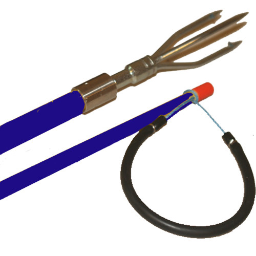 2 Foot Fiberglass Pole Spear with 3 Prong Trident Tip - Great for Hunting Lionfish!!