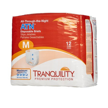 Adult Incontinent Brief ATN Tab Closure Disposable Heavy Absorbency