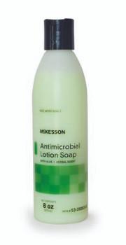Antimicrobial Soap Lotion Bottle/Pump/Jug Herbal Scent