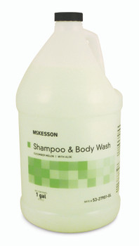 Shampoo and Body Wash Squeeze Bottle/Jug Cucumber Melon Scent