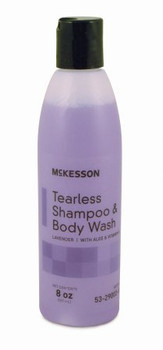 Tearless Shampoo and Body Wash Squeeze Bottle/Jug Lavender Scent