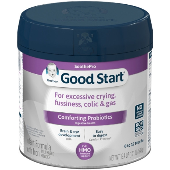 Infant Formula Gerber® Good Start® SoothePro 19.4 oz. Canister Powder