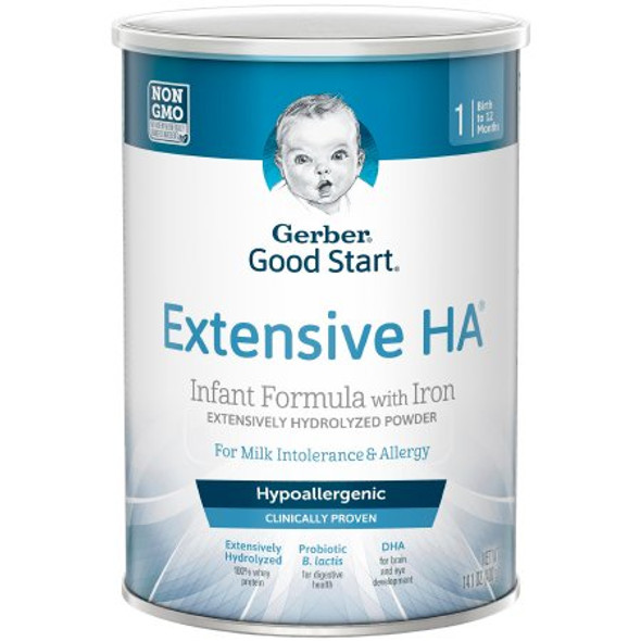 Infant Formula Gerber® Extensive HA™ 14.1 oz. Can Powder