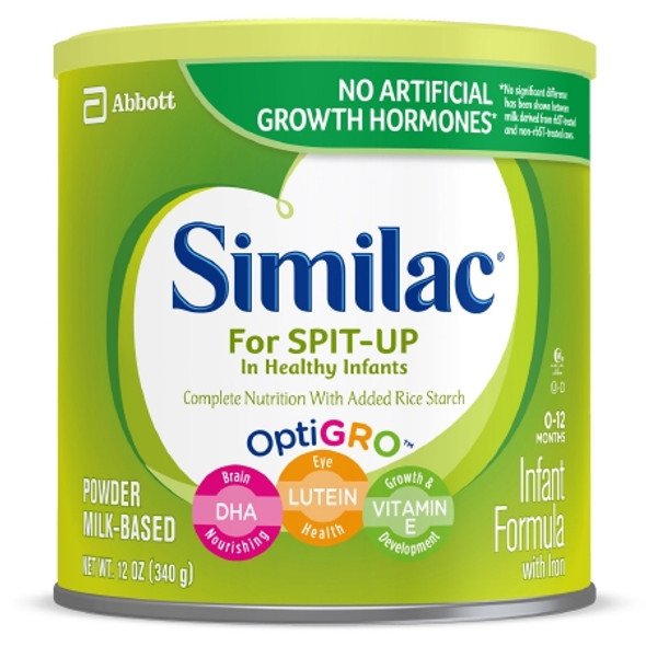 Infant Formula Similac® for Spit Up 12.3 oz. Can Powder