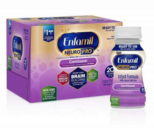 Infant Formula Enfamil® NeuroPro™ Gentlease® 6 oz. Bottle Ready to Use