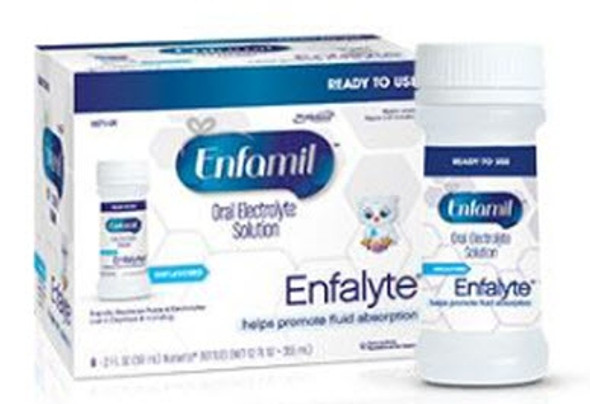 Oral Electrolyte Solution Enfamil® Enfalyte® 2 oz. Bottle Ready to Use